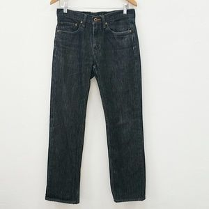 BANANA REPUBLIC BLACK ACID WASH JEANS - 30